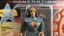 """Generations Lursa Klingon WarriorStar Trek '94 5"""" Playmates Star Trek Unopened"""