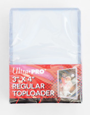 "Ultra Pro 3"" X 4"" Clear Regular Toploader MTG MAGIC POKEMON YUGIOH 1 - 1000"