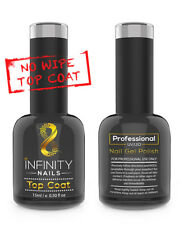 Infinity uñas no limpie capa superior esmalte gel de uñas - - UV/LED-no limpie Top 15 Ml