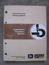 John Deere Alternators Starters Technical manual Delco Remy Motorola Valeo Bosch