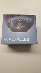 ASUS ZenWatch 2 (WI501Q) Stainless Steel Case Gray With Bonus adjustable band