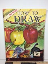 Vintage HOW TO DRAW 2 NEW EDITION Walter T. Foster LANDSCAPES STILL-LIFE ANIMALS