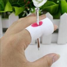 Nail Through Finger Funny Prank Gag Joke Halloween Office Fake Blood Novelty