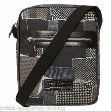 JOHN GALLIANO Black Messenger Cross body Bag BNWT