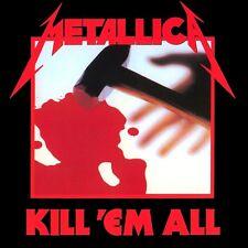 Metallica - Kill 'em All Vinyl LP Heavy Metal Sticker, Magnet