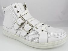 NIB GBX 132586 SIDE ZIP HIGH TOP LACE UP STRAPS SNEAKERS FASHION Men's Shoes 8