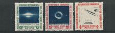 MEXICO 1942 ASTROPHYSICS set (Scott C123-25 AIRMAILS only) VF MNH
