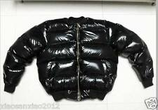 Shiny Glanznylon wet-look Daunenjacke Daunenmantel Mantel Down jacket anpassen