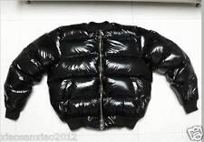 Shiny Shiny nylon wet-look Down jacket Down Coat coat Down jacket customize warm