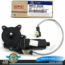 GENUINE Fits Hyundai Accent Sonata Power Window Motor FRONT LEFT OEM 98810-34030