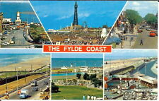 Lancashire: The Fylde Coast Multiview - Unposted c.1970's