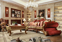 BRAND NEW SOFA SET HD-2575 LIVING ROOM SET SOFA LOVESAET CHAIR
