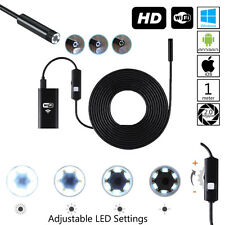 Indigi® HD Waterproof Inspection Camera for Plumbing / In-Wall for Android & iOS