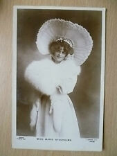 1905 Used Real Photo Postcards- Actresses MISS MARIE STUDHOLME, No. 1080