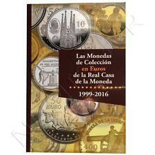 ESPAÑA: Catalogo LAS MONEDAS de Colección en EUROS de la Real Casa de la Moneda
