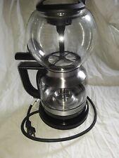 KitchenAid Kcm0802 Siphon Glass Vacuum Coffee Maker Brewer Medallion Silver !