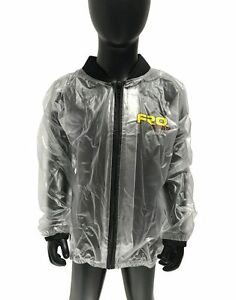 NEW Kids Clear Waterproof Race Jacket - Rain, Mud, Motocross, MX, FRO Systems