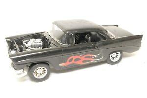 Vintage Built Model Car 1/25 1956 Chevy Hot Rod Custom Drag Junkyard Parts