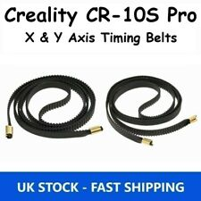 Creality CR-10S Pro X & Y Axis Black Rubber Timing Belt GT2 6mm Replacement Part