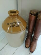 More details for very large stone flagon bottle 3 the sunecta fruit juice company mansfield