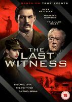 The Last Witness DVD (2018) Alex Pettyfer, Szkopiak (DIR) cert 15 ***NEW***