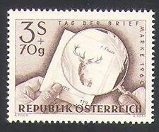 Austria 1960 Stamp Day/Deer/Stag/Animals/Nature/Wildlife 1v (n34374)