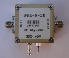 Frequency Divider 0.1-15GHz Div 9, FPS-9-15, New, SMA