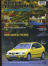 (9A)REVUE TECHNIQUE CARROSSERIE SEAT LEON et TOLEDO