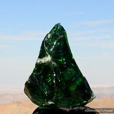 Emerald Shift Andara Crystal Altar Stone 'Atlantean Master of Mysteries' 15 lbs
