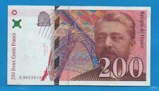 Gertbrolen  200 Francs EIFFEL Type 1995 Billet E002201605