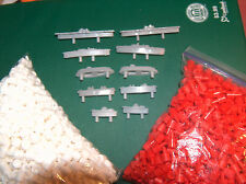 10 Battleship Ships Pegs Replacement Pieces Parts 84 Red 168 white SHORT game