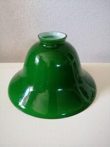 Vetro ricambio per lampada campana verde lampada ministeriale o applique  d.19