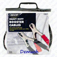 New BATTERY JUMP START LEADS 2M Long Car Van Heavy Duty BOOSTER CABLES UK ✔