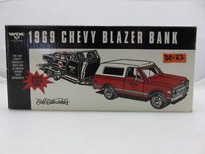 ERTL WIX 1969 CHEVY BLAZER BANK Die-Cast Metal ** BLAZER ONLY **