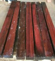1 Katalox Wood Sqr 1.5x24 Pool Cues Lathe Woodturning Chisel Handles Table Parts