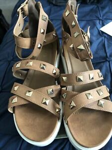 Used Gladiator Sandals Size 6 Missguided