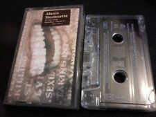 ALANIS MORISSETTE Supposed Former Infatuation Junkie cassette tape POST FREE