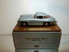 BBURAGO 3513 MERCEDES BENZ 300 SL 1954 - GREY METALLIC  1:18 - EXCELLENT IN BOX