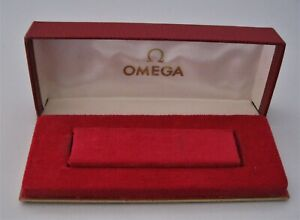 Genuine Vintage Mans Omega presentation watch box Very Good Condition No Reserve