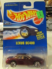 Hot Wheels Lexus SC400 #264 w/chrome 5 holes