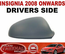 VAUXHALL INSIGNIA PRIMED WING MIRROR COVER CAP DRIVERS OFF SIDE SRI CDTI ELITE