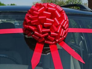 Giant bow for car BIg christmas gift bow ALL COLOURS  + SUPERFAST DISPATCH!!