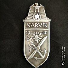 Insigne Militaire Allemand ww2 plaque de bras Narvik