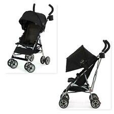 Baby Stroller Lightweight Umbrella Folding Toddler Travel Safety Compact Black