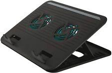 ️316297 - Trust Cyclone Supporto per Laptop con 2 Ventole di Raffreddamento B0