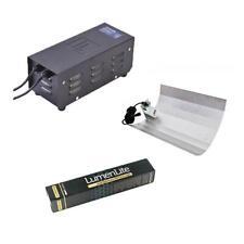 Hydroponics Grow Tent Metal Vented LumenLite 250w HPS Magnetic Light Kit