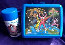 Mighty Morphin Power Rangers Vintage  Lunchbox and Thermos Blue Villian