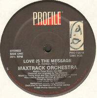 MAXTRACK ORCHESTRA - Love Is The Message - Profile