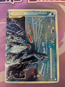 LUGIA LEGEND Bottom Half 114/123 HeartGold & SoulSilver HOLO Pokemon Card