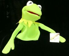 Disney Madame Alexander The Muppets Kermit the Frog Hand Puppet NWT!